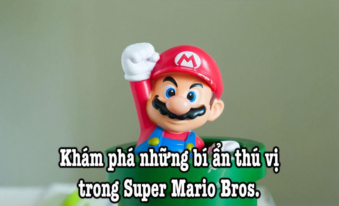 khảm phá bí ẩn game Super Mario Bros