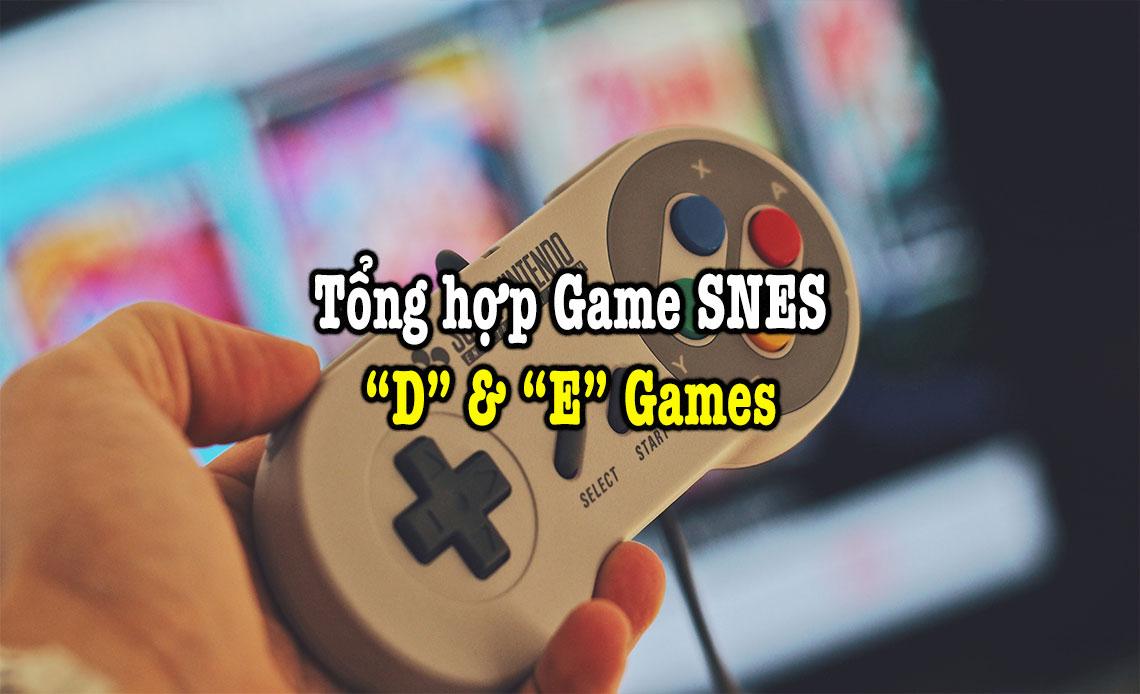 game snes hay phần 9