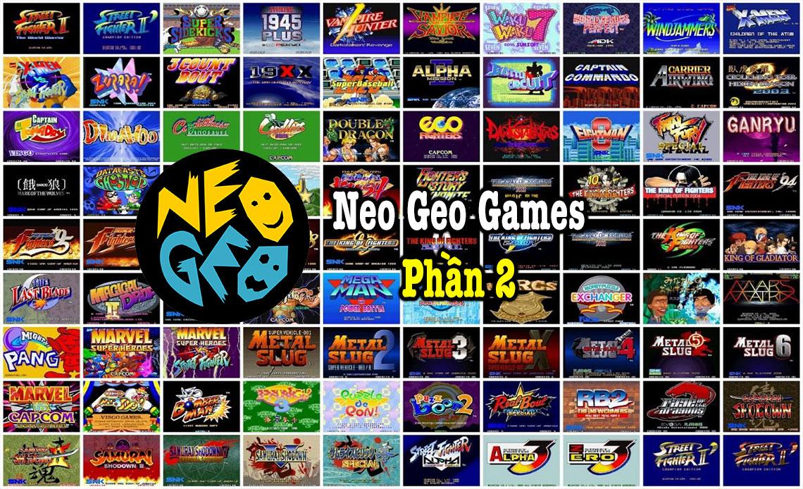 Neo Geo games P2