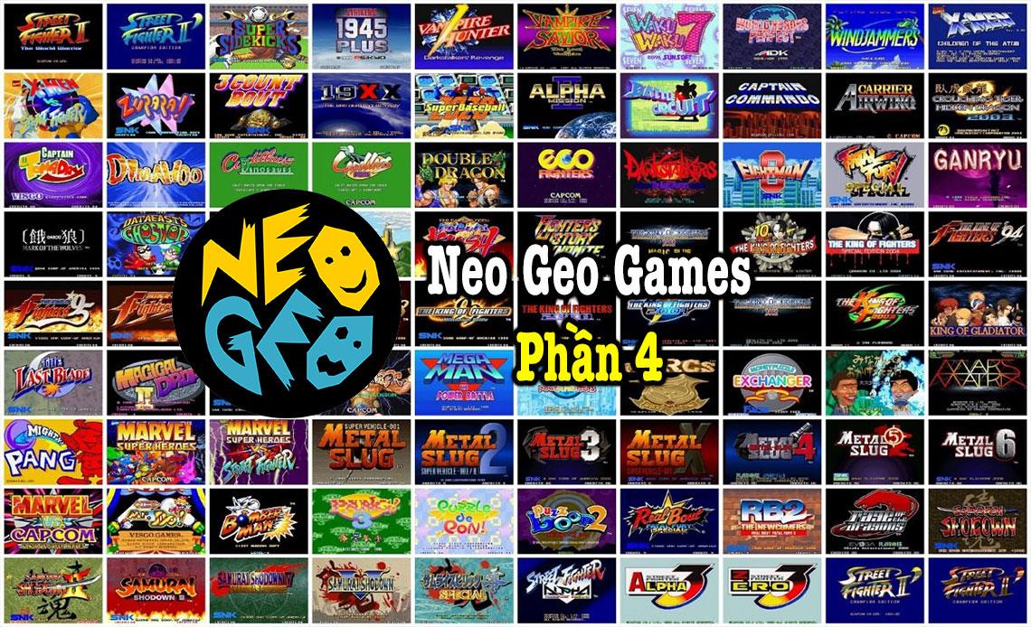 Neo Geo Games P4